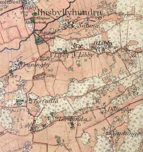 karta från år 1906